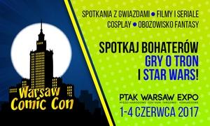 Warsaw Comic Con & Good Game Warsaw: Wejście na targi Warsaw Comic Con & Good Game Warsaw: 2 bilety od 34,99 zł w Ptak Warsaw Expo w Nadarzynie (do -43%)