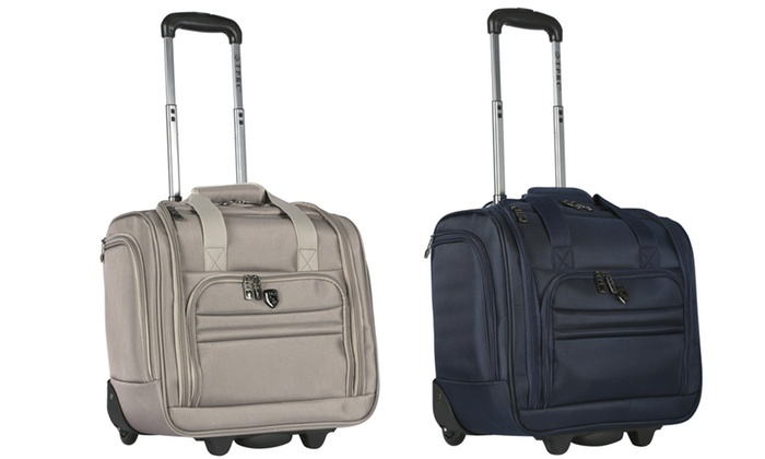 Travelers Polo Racquet Club 15 Underseat Carry On Luggage