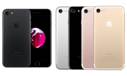Apple iPhone 7 o 7 Plus de 32, 128 o 256 GB reacondicionado (envío gratuito)