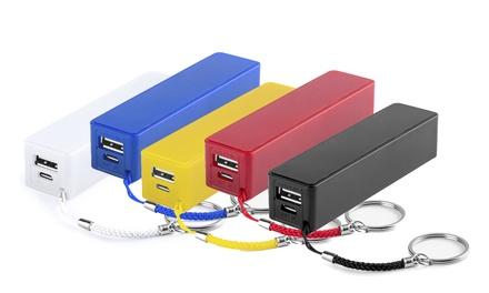 2 o 4 baterías auxiliares externas con cable micro USB