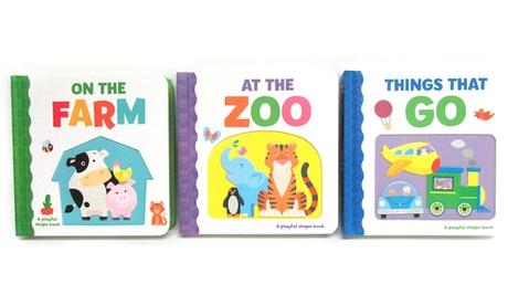 Fun Educational Playful Shaped Board Book Set (3-Pack) 207eebe2-df88-11e7-9d2f-00259069d868