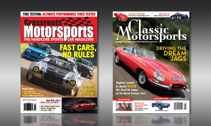 Classic Motorsports And Grassroots Motorsports Up To Off - Sports cars magazine