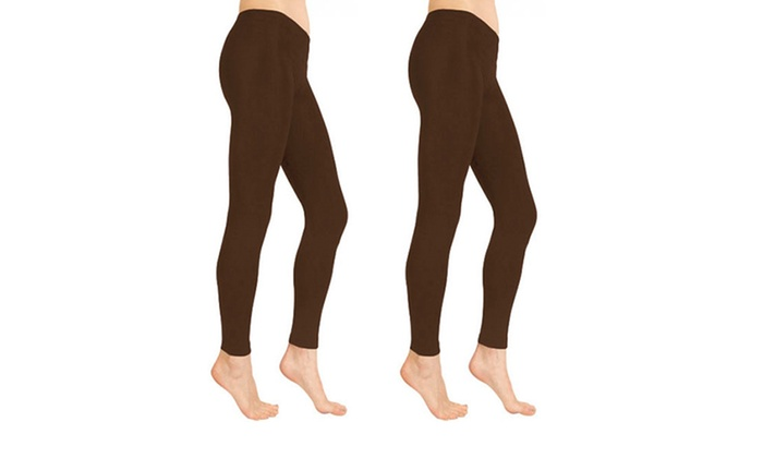 Chinese Laundry Fleece Lined Tights 2 Pack Groupon