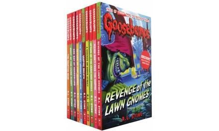 Goosebumps 10-Book Collection