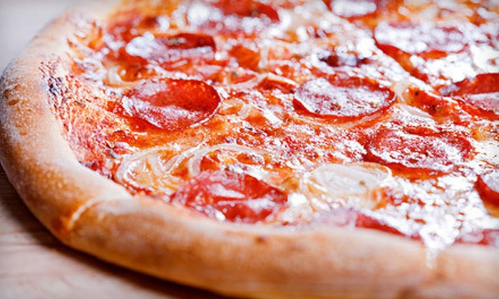 Ruckus Pizza and Bar - Southwest Raleigh: $10 for $20 Worth of Pizza, Sandwiches, and More at Ruckus Pizza and Bar
