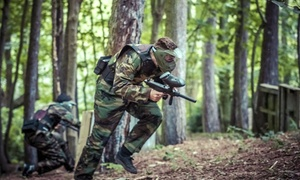 Marchbrook Paintball: Paintball Game with 100 Balls and Pizza for Up to 10 at Marchbrook Paintball (Up to 92% Off)
