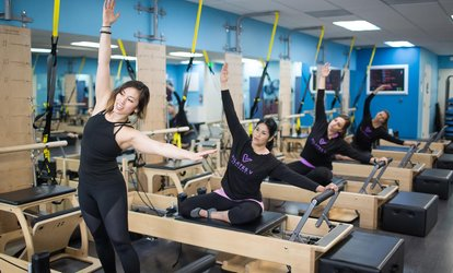 Five <strong>Pilates</strong> Reformer Classes at <strong>Pilates</strong> V (49% Off)