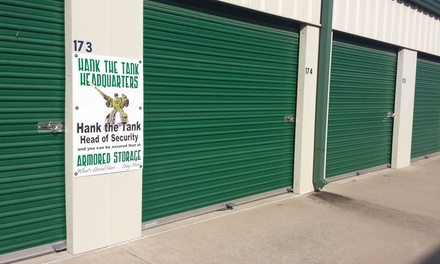 $38 for $85 Worth of Storage-Space Rental from Armored Storage