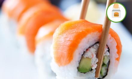 Sushi box da 36 o 50 pezzi misti offerto dal ristorante Moya (sconto fino a 35%). D'asporto