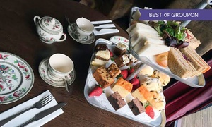 The Quicken Tree Restaurant: Summer Afternoon Tea with White Wine Spritzer for Two or Four at The Quicken Tree Restaurant (54% Off)