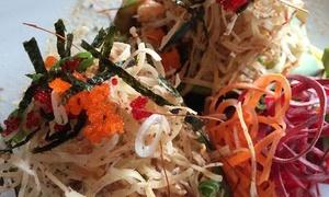Kodimoto Sushi Bar: 45 C$ pour un menu japonais de 4 services pour 2 personnes au restaurant Kodimoto Sushi Bar (valeur de 86 C$)