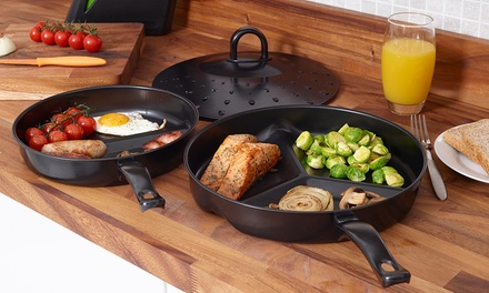 Non-Stick Divider Frying Pan Sets