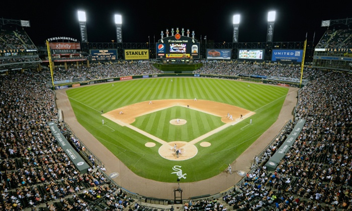 Chicago White Sox - Cellular Field: Chicago White Sox Game and Pre-Game Patio Party with All-You-Can-Eat Buffet (April 9–24)