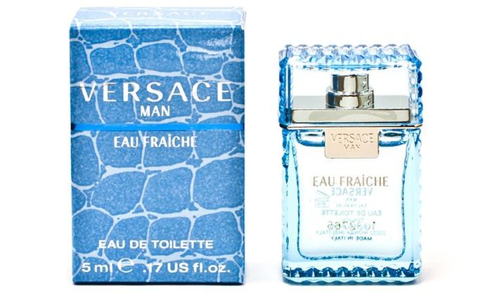 Versace Man Eau Fraiche Eau de Toilette for Men (0.17, 1.7, or 3.4 Fl. Oz.)