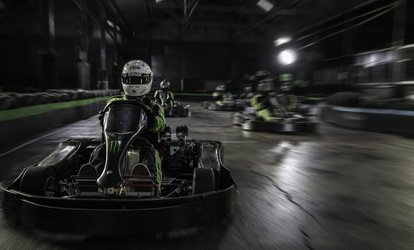 image for 30-Minute Indoor Karting Experience for Up to Four at Apex Kart (25% Off)