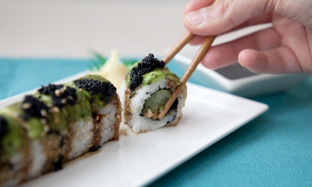 $18 for $30 Towards Dinner for Two or More at Edamame Steak House and Fine Asian Cuisine