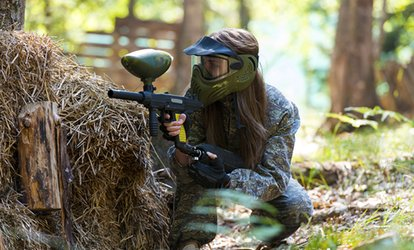 image for Paintball Experience With Lunch from £3 at Commando Elite Paintball (Up to 91% Off)