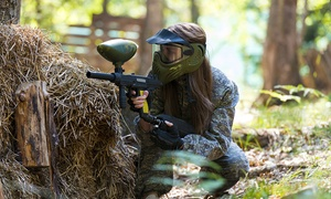 Commando Elite Paintball: Paintball Experience With Lunch from £3 at Commando Elite Paintball (Up to 91% Off)