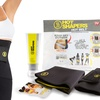 Hot Slimming Belt with Waist Trainer and Anti-Cellulite Cream