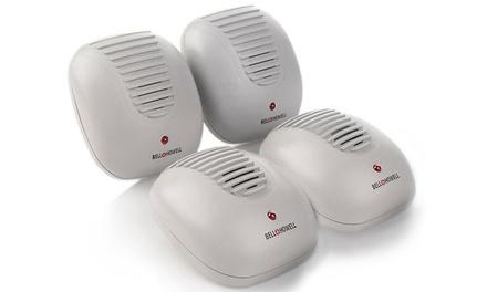 Bell + Howell Ultrasonic Pest Repellers (3- or 4-Pack)