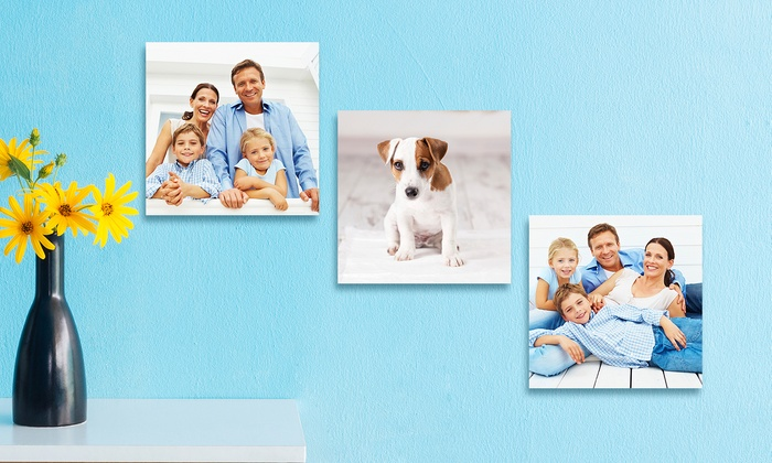Groupon Up To 90 Off Custom 6 X6 Mini Gallery Wred Canvas Prints