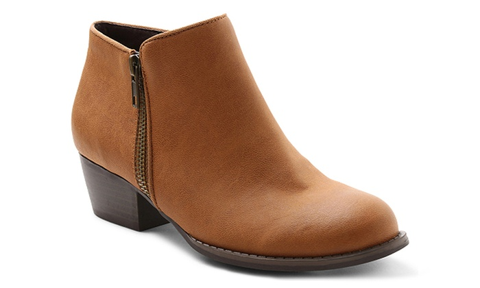 Unionbay Holly Women's Ankle Booties (Sizes 6.5, 8, 9.5)