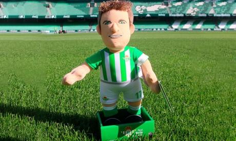Peluche de Guardado, Barta, Joaquín o Palmerín o muñeco articulado de Joaquín en Real Betis Balompié