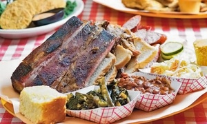 Bourbon BBQ: Barbecue for Two at Bourbon BBQ (Up to 48% Off). Four Options Available.