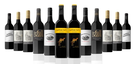 $69 for a 12Bottle Case of Mixed Red Wine Including Shiraz from Top 10 World Brand Yellow Tail Don't Pay $189