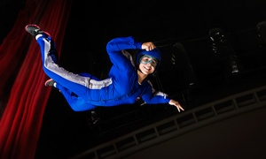 iFly Dubai: Wind Tunnel Flying Experience with Optional Sky Trail, Wall Climbing and Bowling at iFly Dubai (Up to 59% Off)