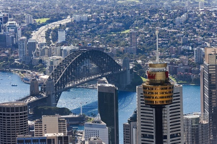 Sydney Tower Eye: Child 4 15 years $16 or adult entry $23.20 with Merlin Entertainments Up to $29 Value