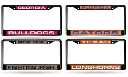 NCAA Georgia Bulldogs Chrome Plate Frame
