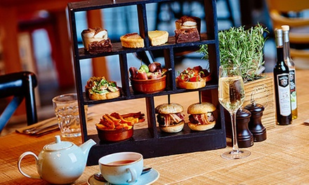Afternoon Tea with Sparkling Wine