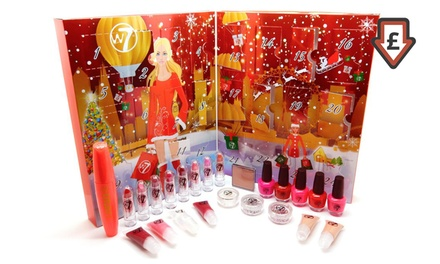 One £14.99 or Two £28.99 W7 Cosmetics 2016 Advent Calendars