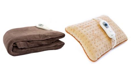Manta y/o almohada eléctrica térmica Astan Hogar con opción a pack