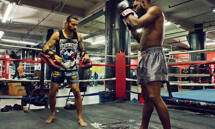 Red Planet Muay Thai - Red Planet Muay Thai: One or Two Private Muay Thai, Boxing, or Fitness Conditioning Sessions at Red Planet Muay Thai (Up to 75% Off)