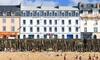 Saint-Malo : chambre double, en option pdj et bouteille de champagne
