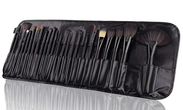 Set di 24 pennelli per make-up