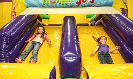 Open-Play Sessions or Two-Hour Party with Food for Up to Eight Kids at Monkey Joe's (Up to 48% Off) 006d8d2d-170f-4dba-9190-0a1b5202550b