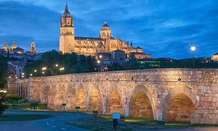 Salamanca: 1, 2 o 3 noches para dos personas con desayuno, detalle de bienvenida y late check-out en Hotel Eurowest