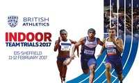 British Athletics Indoor Team Trials, Adult and Concession Tier One Tickets, 11-12 February, Sheffield (Up to 20% Off*)