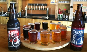 Out of Bounds Brewing Company: Brewery Tour, Flights, and Take-Home Beers for 2 or 4, or Party at Out of Bounds Brewing Company (Up to 51% Off)