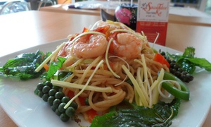 Sawatdee Ka THAI FOOD: Pranzo o cena thailandese per 2 persone da Sawatdee Ka Thai Food (sconto fino a 57%)