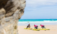 Morning Surf Lesson with Afternoon Surfboard and Wetsuit Hire for One of Two at Ticket To Ride (33% Off)