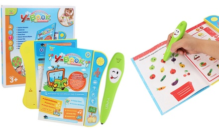 Kids' Multifunctional Voice Learning Books with Smart Logic Pens: One ($25) or Two ($39.95)
