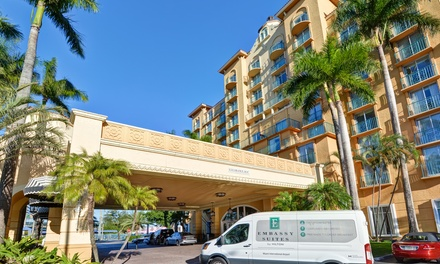 Airport Parking at Embassy Suites Miami at MIA (Up to 20% Off). Five Options Available.