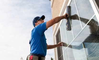 $54 for Interior and Exterior Cleaning for Up to 10 Windows from Rigdon ($119 Value)