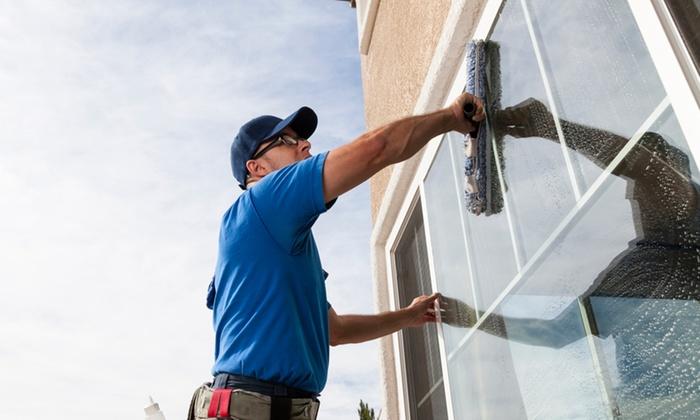 Rius Servicegesellschaft - Mehrere Standorte: Reinigung von 10 oder 20 Fenstern inkl. Anfahrt und Reinigungsmitteln von Rius Servicegesellschaft (bis zu 40% sparen*)