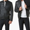 Kenneth Cole Men's Faux Leather Jacket (Size XXL)