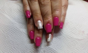 Candy Nails: Shellac Manicure or Pedicure or Both at Candy Nails (Up to 47% Off)